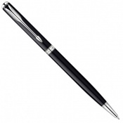 Ручка шариковая Parker SONNET 08 Slim Laque Black SP BP 85 831S