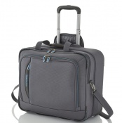 Брифкейс на колесах Travelite CROSSLITE/Anthracite TL089506-04 серый