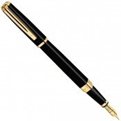 Перьевая ручка WATERMAN Exception Slim Black GT FP 11 028
