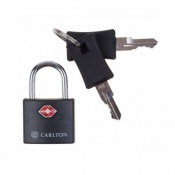 Замок Carlton Travel Accessories 05992797X-00 черный