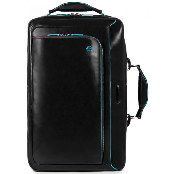 6373b5728775 Мужская сумка Piquadro Blue Square (B2) CA3201B2_N черная ― CASE.UA