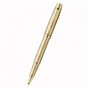Ручка-роллер Parker IM Brushed Metal Gold GT RB 20 322G